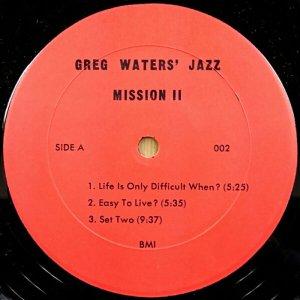 画像2: Greg Waters - Jazz Mission II