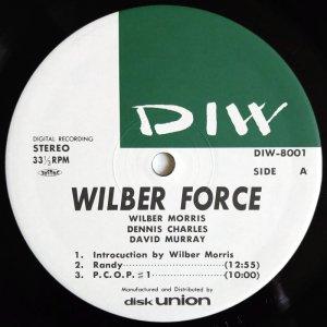 画像2:  Wilber Morris / Dennis Charles / David Murray - Wilber Force